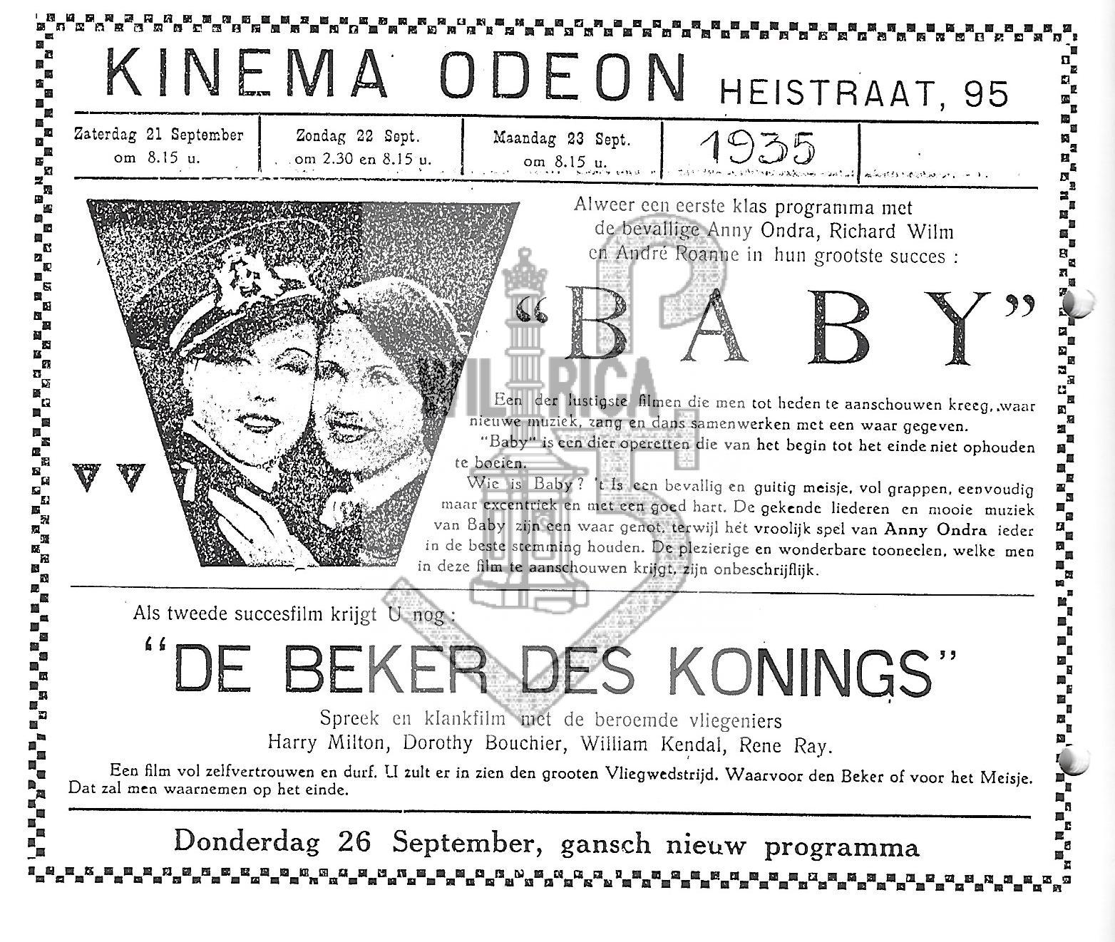 Affiche Kinema Odeon